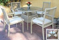 Set de mesa para exterior Napoly - Set de mesa de exterior Napoly
