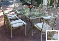 Set de mesa para exterior Napoly 2
