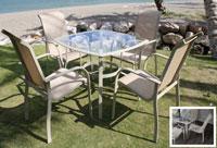 Set de mesa y sillón para exterior Sevilla
