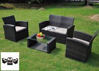 Set de sofá para exterior Japon - Set de muebles de sofá  para exterior Japon