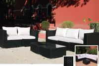Set de sofá para exterior Comby - Set de muebles de sofá  para exterior Comby