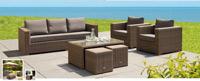Set de sofá para exterior Moray - Set de muebles de sofá  para exterior Moray
