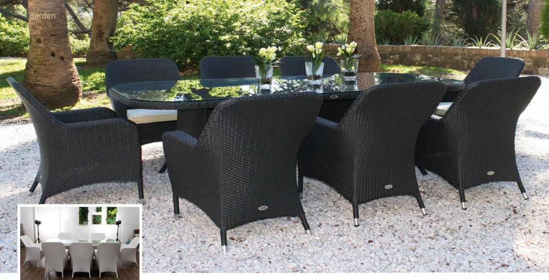 Set de mesa para exterior Ocean - Set de mesa de exterior Ocean
