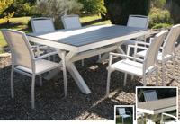 Set de mesa para exterior Panama - Set de mesa de exterior Panama