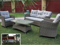 Set de sofá para exterior Venecia - Set de muebles de sofá  para exterior Venecia