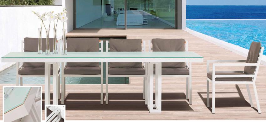 Set de mesa para exterior Veneto - Set de mesa de exterior Veneto