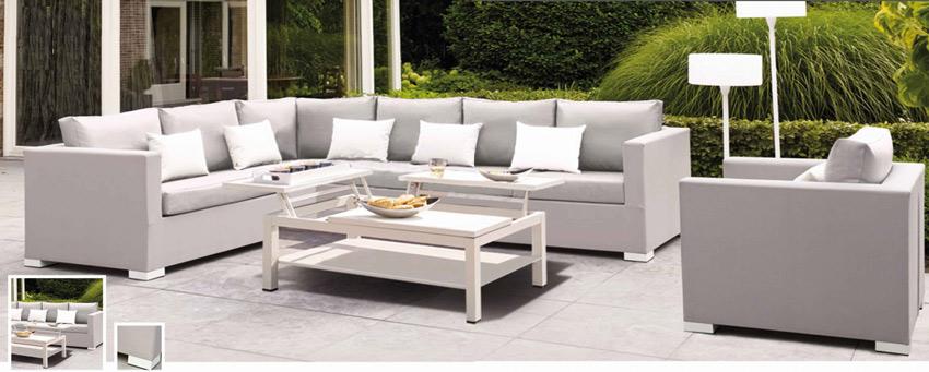 Set de sofá para exterior Veneto - Set de muebles de sofá  para exterior Veneto