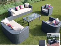 Set de sofá para exterior Venus - Set de muebles de sofá  para exterior Venus