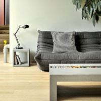 Mesa rectangular de concreto ZEN - Mesa rectangular de concreto ZEN