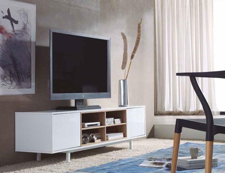 Mueble de TV WENDY - Mueble de TV WENDY, Fabricado en METAL/DM LACADO