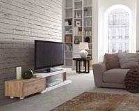 Mueble de TV HUGO - Mueble de TV HUGO, Fabricado en PAPEL / DM LACADO