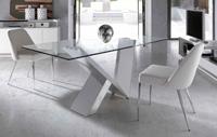 Mesa de comedor cristal templado
