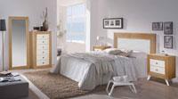 Juego de dormitorio Quebec 1 - Juego de dormitorio Quebec 1