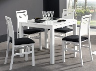 Mesa extensible - Comedor blanco
