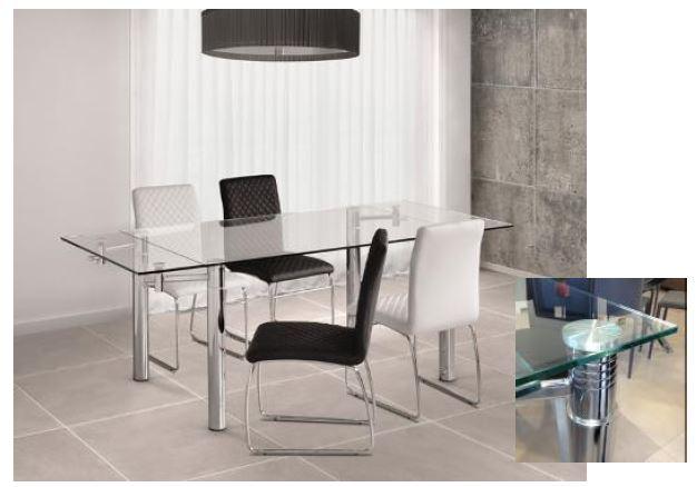Mesa moderna mesa comedor asturias for Mesa comedor moderna