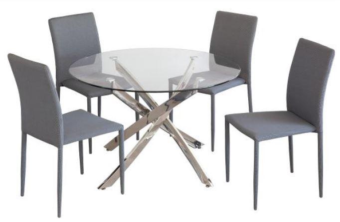 Mesa de comedor Delia - Mesa moderna