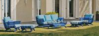 Set muebles de lujo para exteriores Blue Sanoa - Set muebles de lujo para exteriores Blue Sanoa