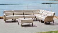 Set muebles de lujo para exteriores Melrose - Set muebles de lujo para exteriores Melrose