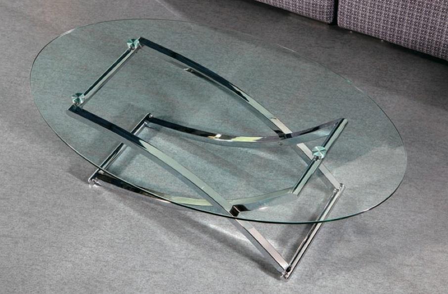 Mia home mesa de cristal