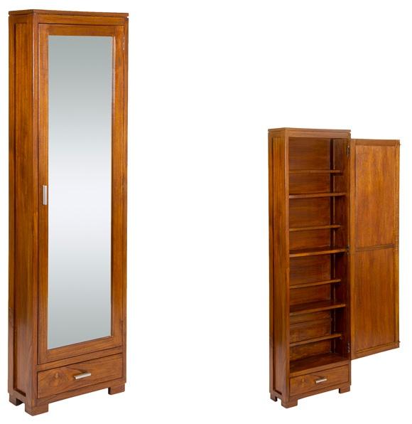 Mia home zapatero de madera for Modelos de zapateros de madera