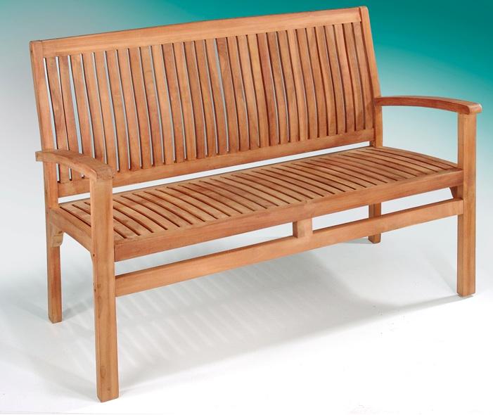 Banco para exterior de madera - Banco de teka