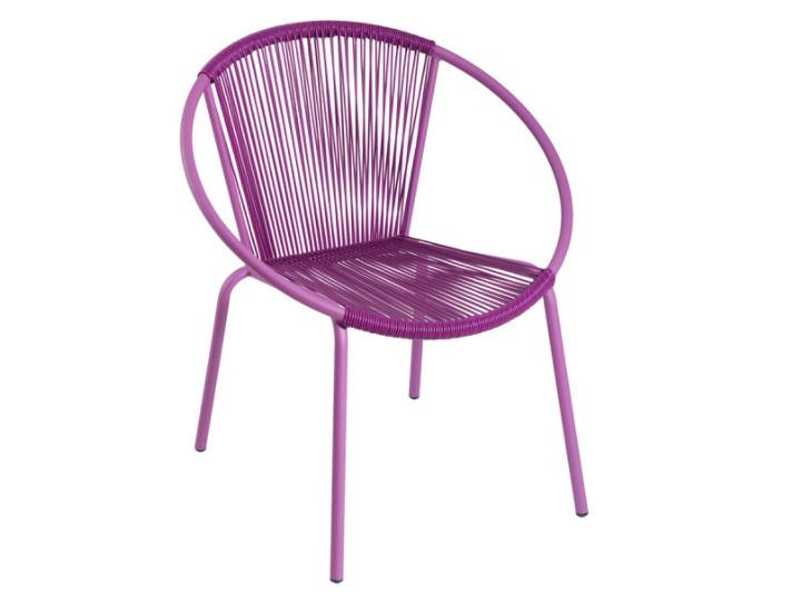Mia home silla met lica apilable - Silla metalica apilable ...