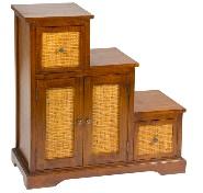 Mueble para CD - Mueble escalera de madera