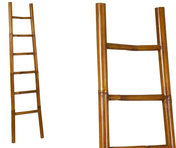 Mia home escalera de bamb - Escalera de bambu ...