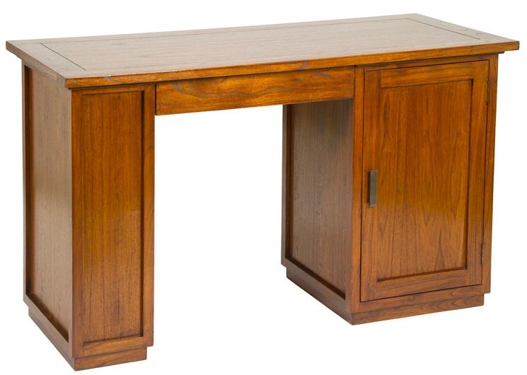 Mia home escritorio madera - Modelos de escritorios de madera ...