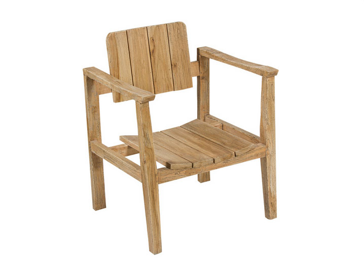 Sillón SP mindi - Sillón SP en madera de mindi