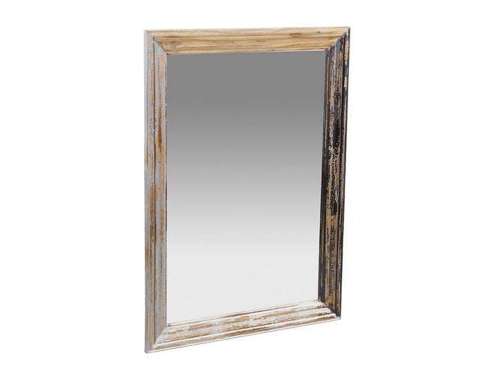 Espejo acabado antiguo SP - Espejo acabado antiguo SP en madera de mindi