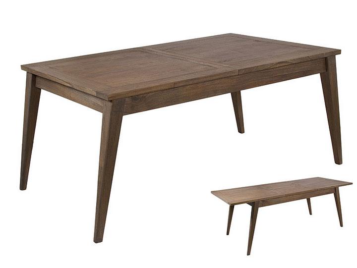 Mesa extensible Amara - Mesa extensible Amara en madera de acacia