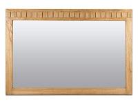 Espejo de pared de madera Chicago - Espejo de pared de madera Chicago, marco en madera de mindi