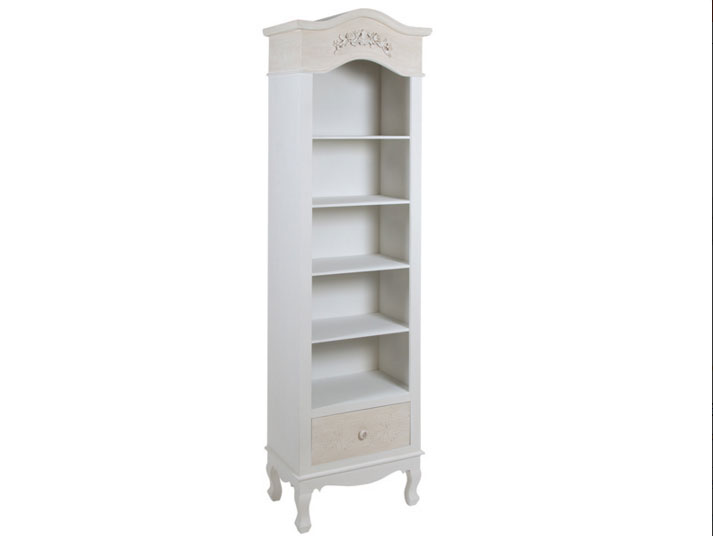 Estantería con cinco estantes Roses - Estantería con cinco estantes Roses fabricado en mdf y madera de pino