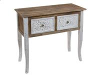 Consola Florencia - Consola Florencia, fabricado en madera de madera de abeto y mdf