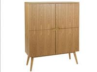 Vitrina Wood fresno - Vitrina Wood fresno, fabricado en madera de fresno