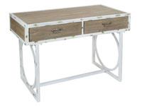 Recibidor madera y metal - Recibidor madera y metal fabricado en madera de abeto y hierro