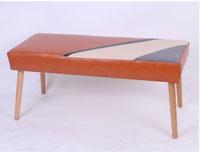 Banqueta Archie - Banqueta Archie fabricado en polipiel y playwood