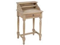 Bureau pequeño - Bureau pequeño fabricado en madera de mindi