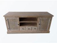 Mesa de TV Paula - Mesa de TV Paula fabricado en madera de pino, madera de paulownia y mdf.