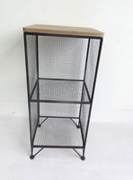 Estantería metal 2 estantes -  Estantería metal 2 estante fabricado en hierro