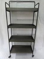 Estantería metal 4 estantes -  Estantería metal 4 estantes fabricado en hierro