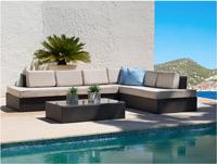 Conjunto sofas de Exterior con mesa - Conjunto sofas de Exterior con mesa