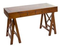 Consola pata en cruz - Consola pata en cruz fabricado en madera de acacia