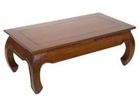 Mesa de Centro rectangular Opium - Mesa de Centro rectangular Opium fabricado en madera de acacia