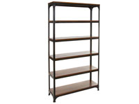 Estantería madera y metal - Estantería madera y metal fabricado en madera de acacia