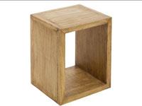 Estantería 1 módulo IOS - Estantería 1 módulo IOS fabricado en madera de acacia