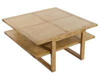 Mesa centro IOS - Mesa centro IOS fabricado en madera de acacia