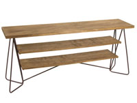 Aparador Florence - Aparador Florence, fabricado en madera de abeto y forja