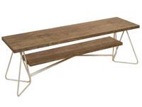 Mesa de TV Florence - Mesa de TV Florence, fabricado en madera de abeto y forja